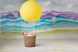 Hot Air balloon newborn set