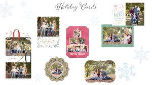 holiday card sample designs