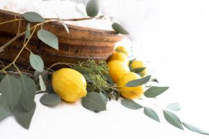 Lemons and greens