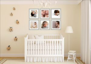 Nursery Wall art above crib